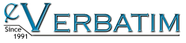 eVerbatim Online